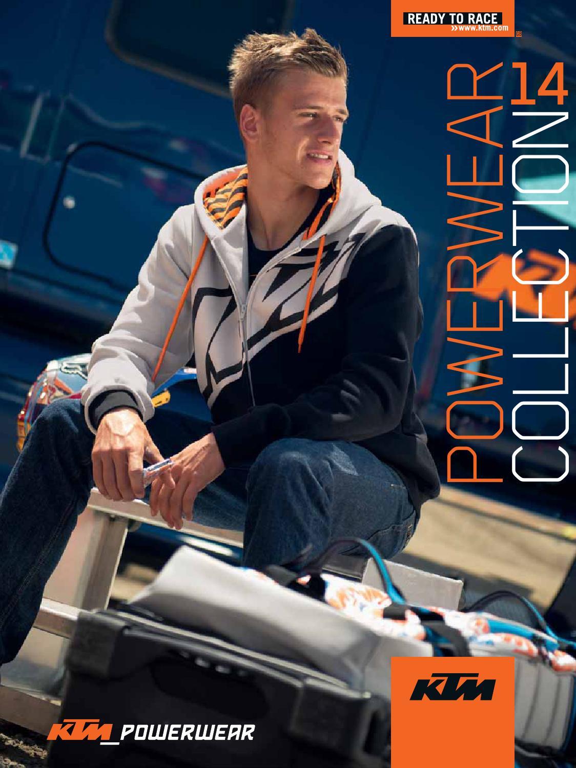 KTM PowerWear Catalogue 2014 English by KTM GROUP issuu