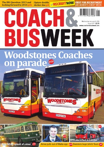 Coach & Bus Week : Issue 1119 by Coach and Bus Week & Group Travel