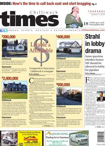 Chilliwack Times January 09 2014 by Chilliwack Times - issuu