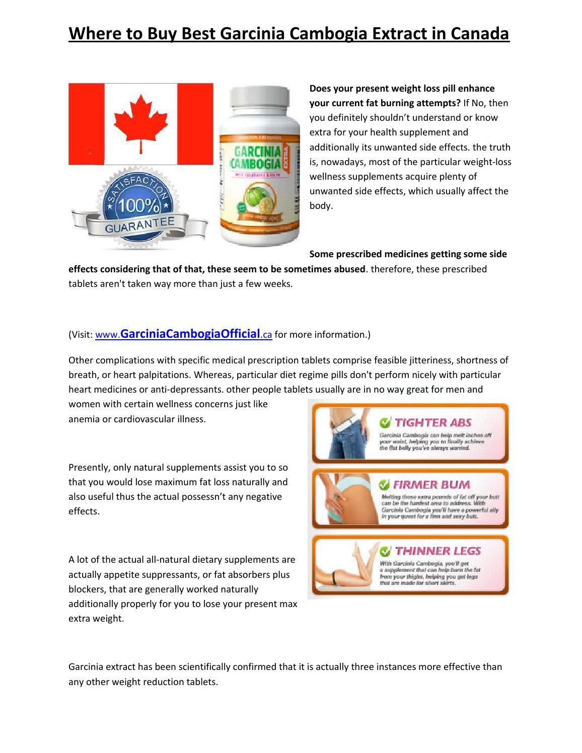 can you take garcinia cambogia with heart medication