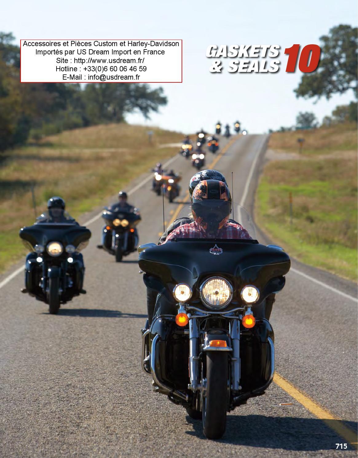 Harley 91-03 Sportster Top End Gasket Kit 17032-91 Metal Base//Rocker Gaskets
