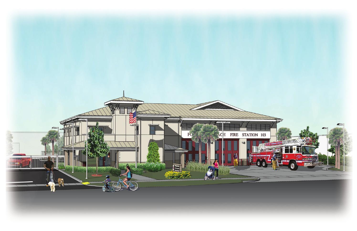 City Of Pompano Beach Fire Station