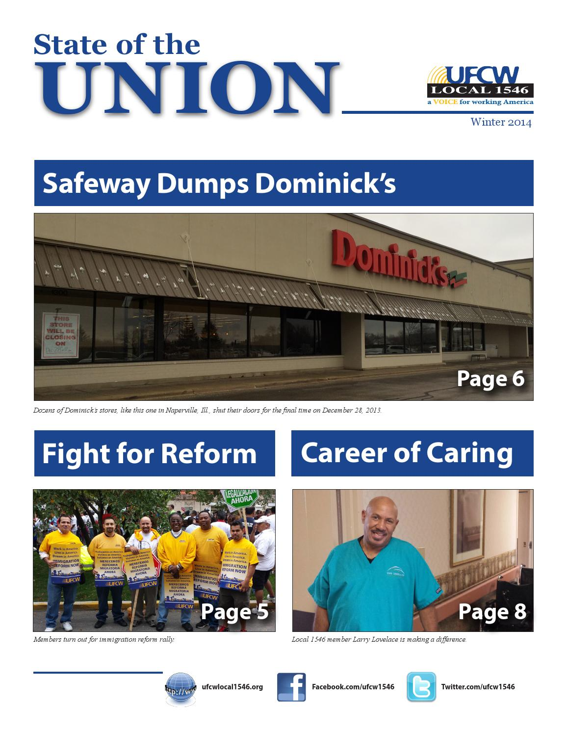 UFCW Local 1546 Newsletter Winter 2014 by Eric Bailey - Issuu