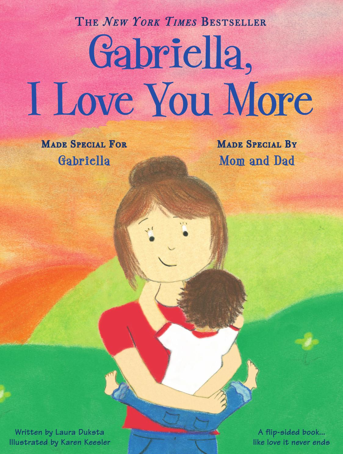 put me in the story i love you more personalized book by