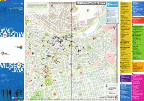 Mapa de Museos de Lima by Lima Cultuta  issuu