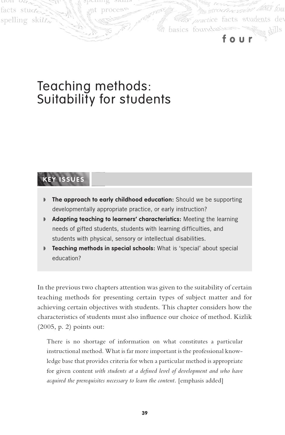 What teachers need to know about teaching methods (1) by Toowoomba
