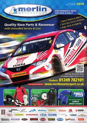 a4d1736a6bd Merlin Motorsport 2013 Motorsport Catalogue by Rob Smith - issuu