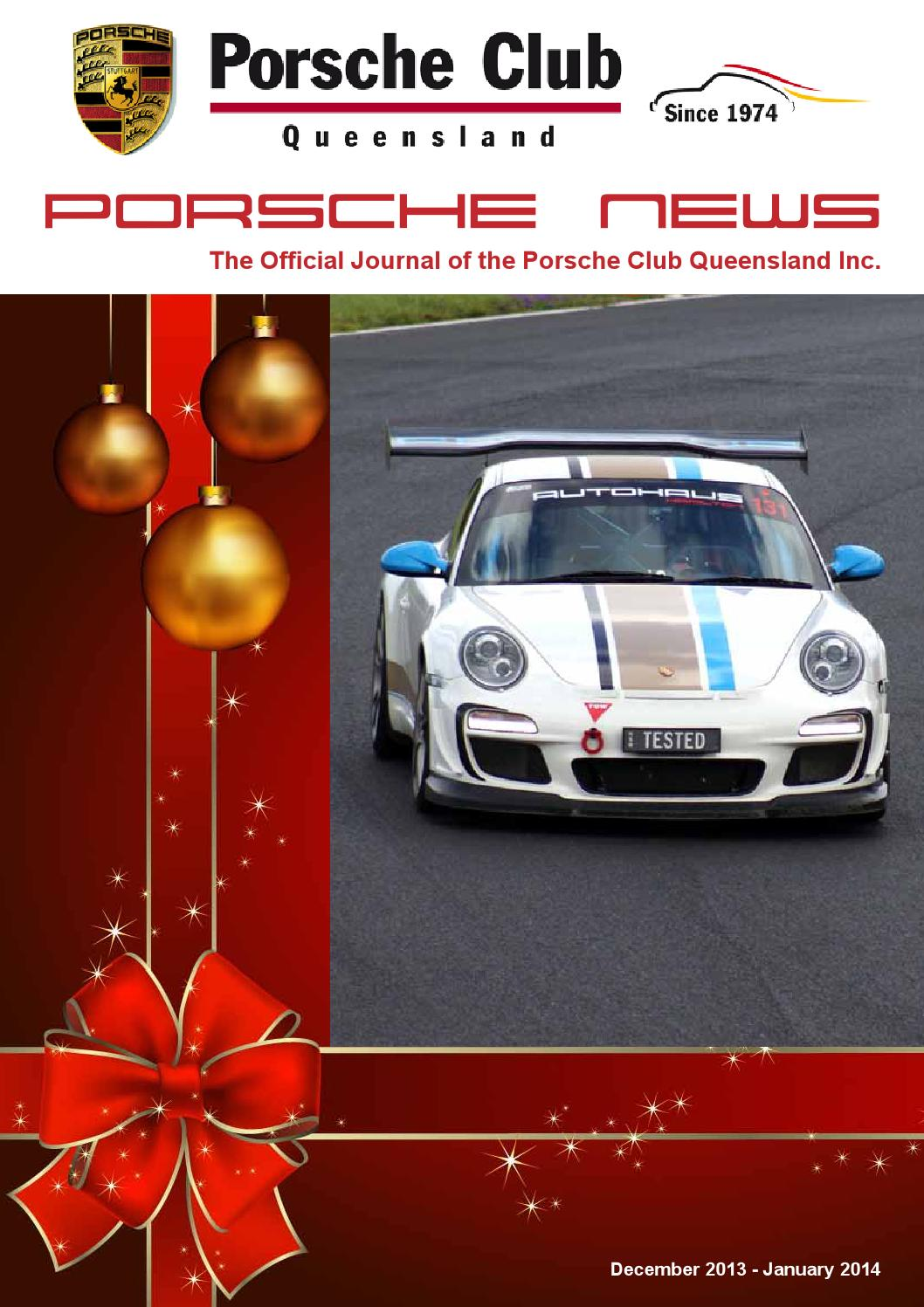 Porsche News Dec 13 Jan 14 By Composite Colour Issuu 997 Pse Wiring
