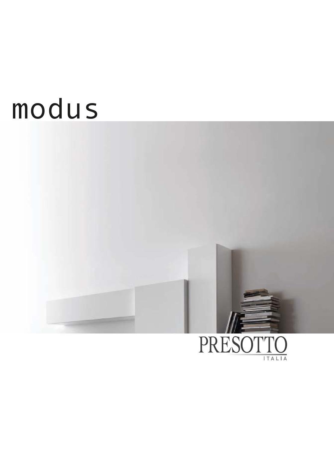 Presotto modus catalogo by grazia mobili issuu for Catalogo presotto