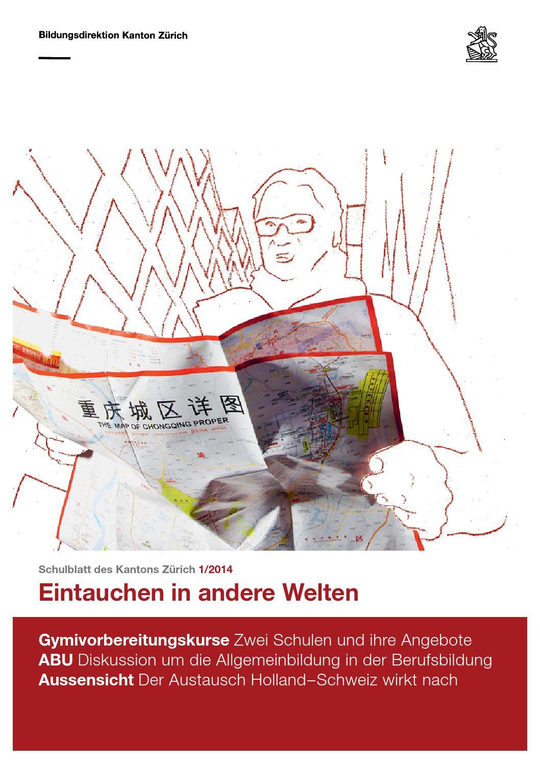 Schulblatt 1 2014 By Schulblatt Kanton Zürich Issuu