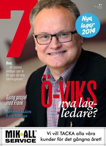 9ff40124d1e6 Tidningen7 nr 1 2014 by 7an Mediapartner - issuu
