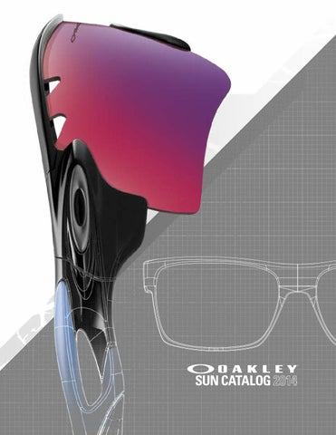7c18e15572 Catalogue OAKLEY sunglasses 2014 by Muriel Bouhet - issuu