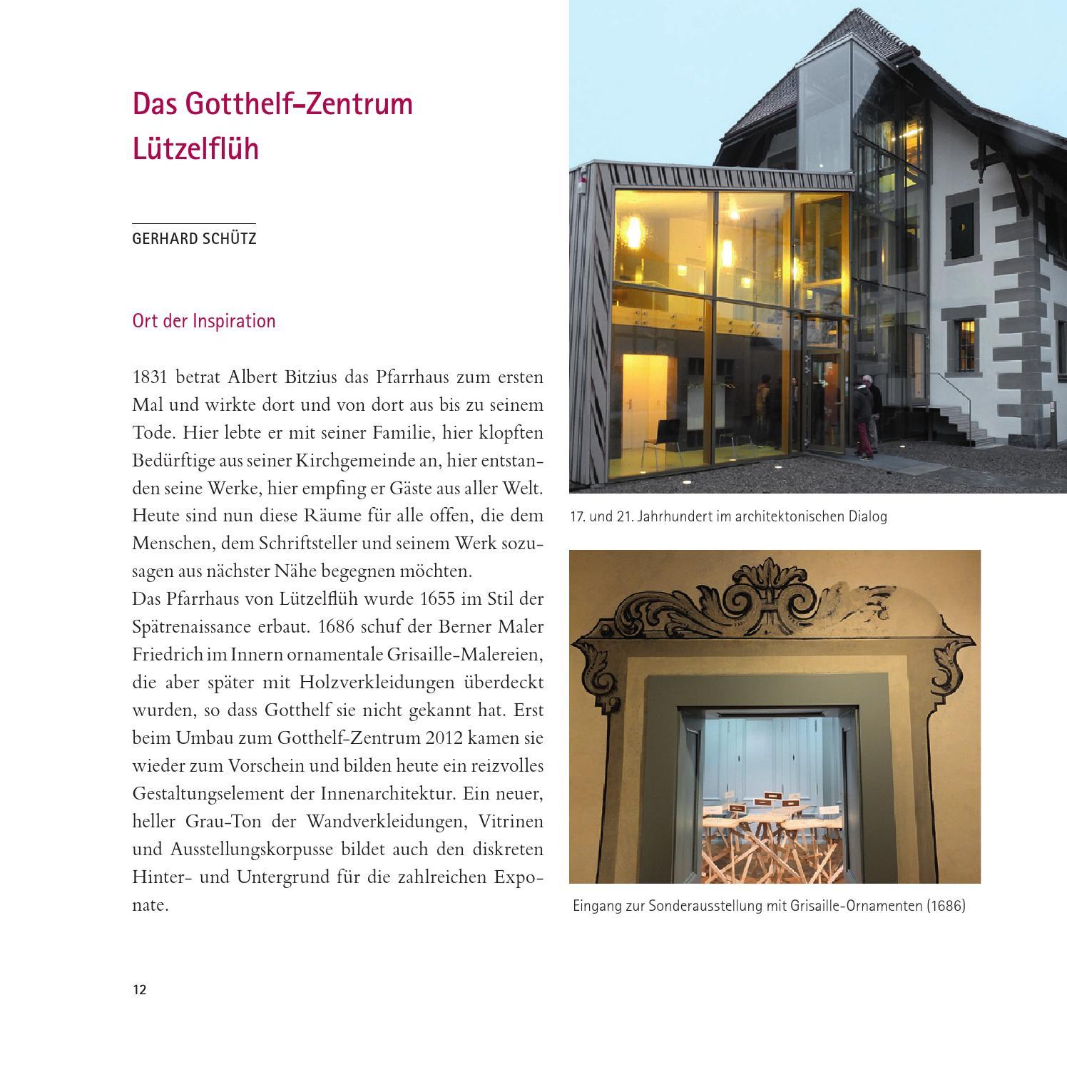 Gerhard Schütz – Gotthelf by Zytglogge Verlag - issuu