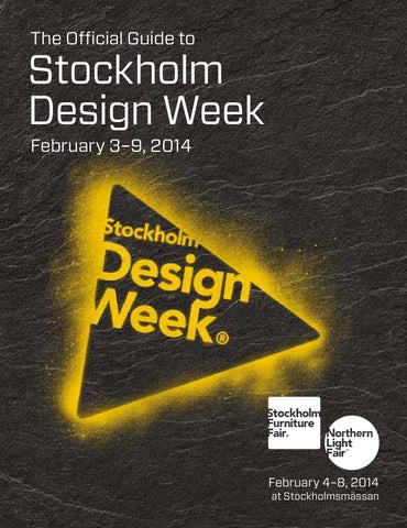 3fa82efe5248 the Official Guide to Stockholm Design Week 2014 by Perfect Storm ...