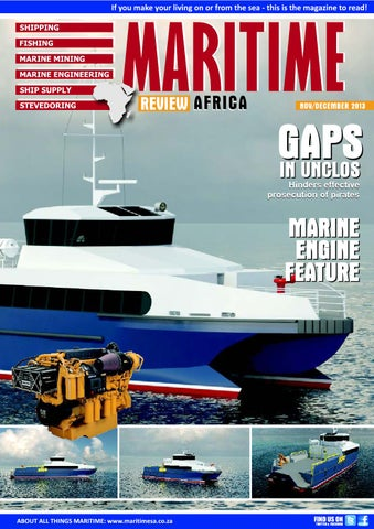 Maritime Review Africa Nov Dec 2013 by More Maximum Media