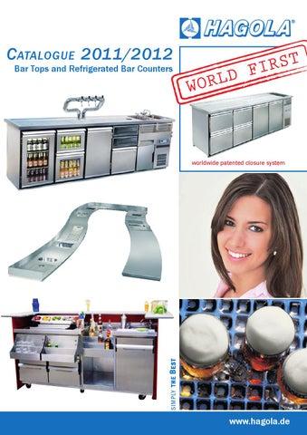C Atalogue 2011/2012 Bar Tops And Refrigerated Bar Counters