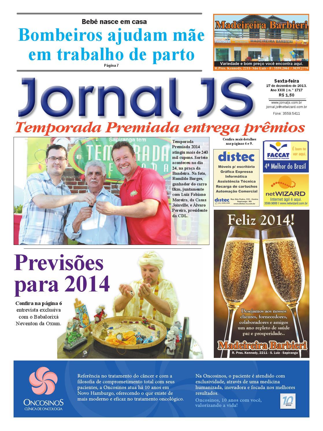 1ef6c265b Jornal JS - 27 de dezembro de 2013 by JORNAL JS - issuu
