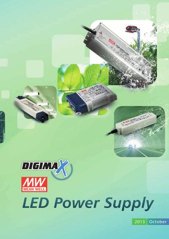 MW Mean Well HLN-40H-48A 48V 0.84A 40.3W Single Output LED Switching Power Supply with PFC