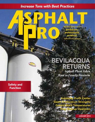 Asphalt Pro January 2014 By Business Times Company Issuu