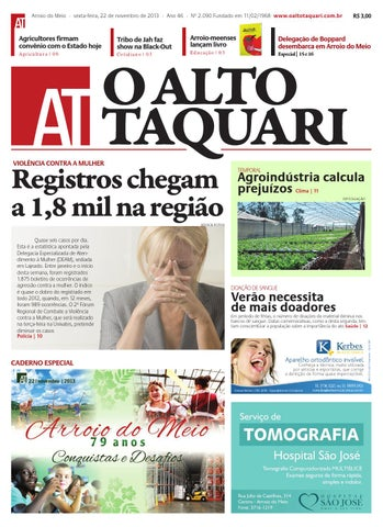 c929313d48e83 Jornal O Alto Taquari - 22 de novembro de 2013 by Jornal O Alto ...