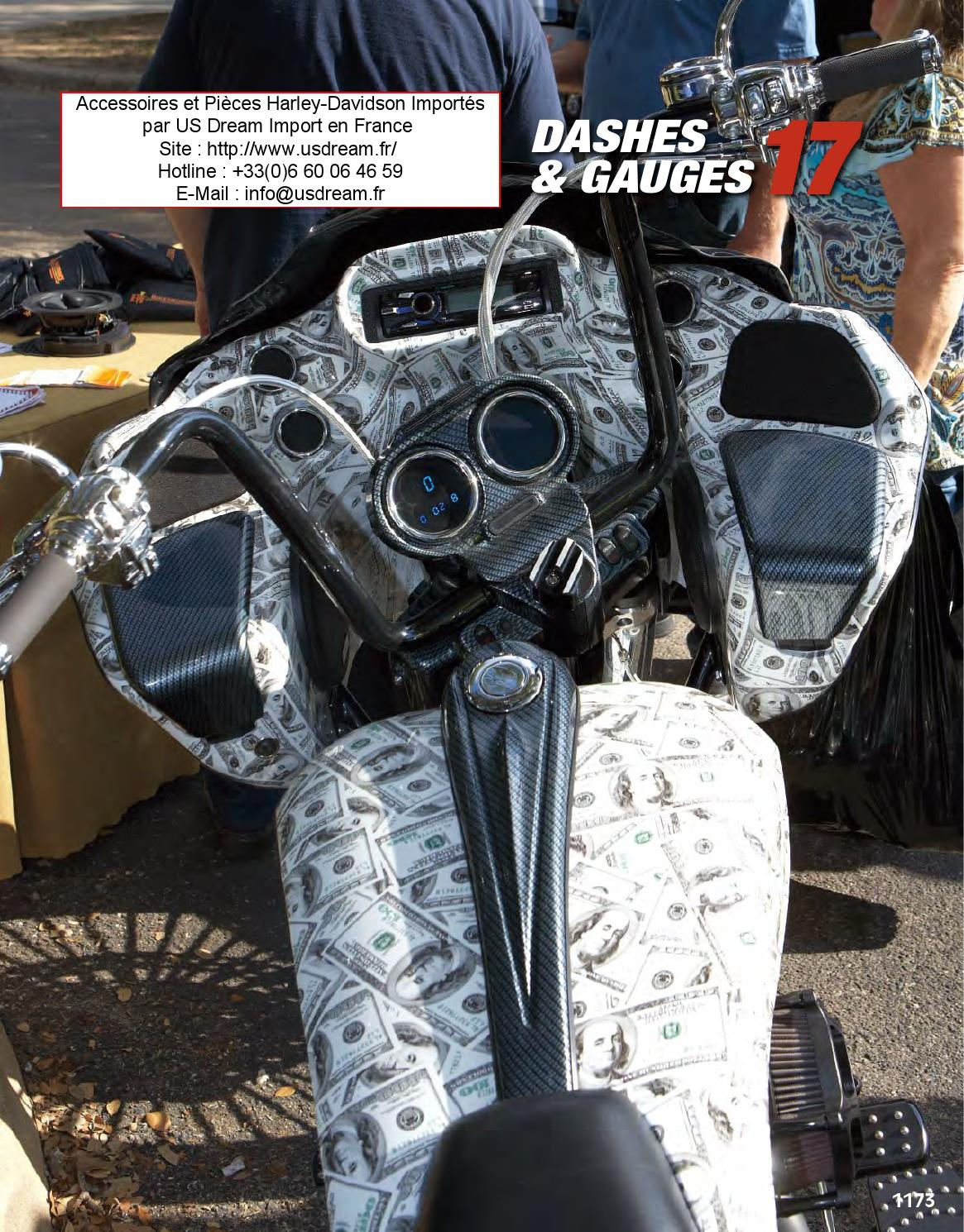 harley davidson et moto custom accessoires tableau de bord by pieces chrome et accessoires. Black Bedroom Furniture Sets. Home Design Ideas