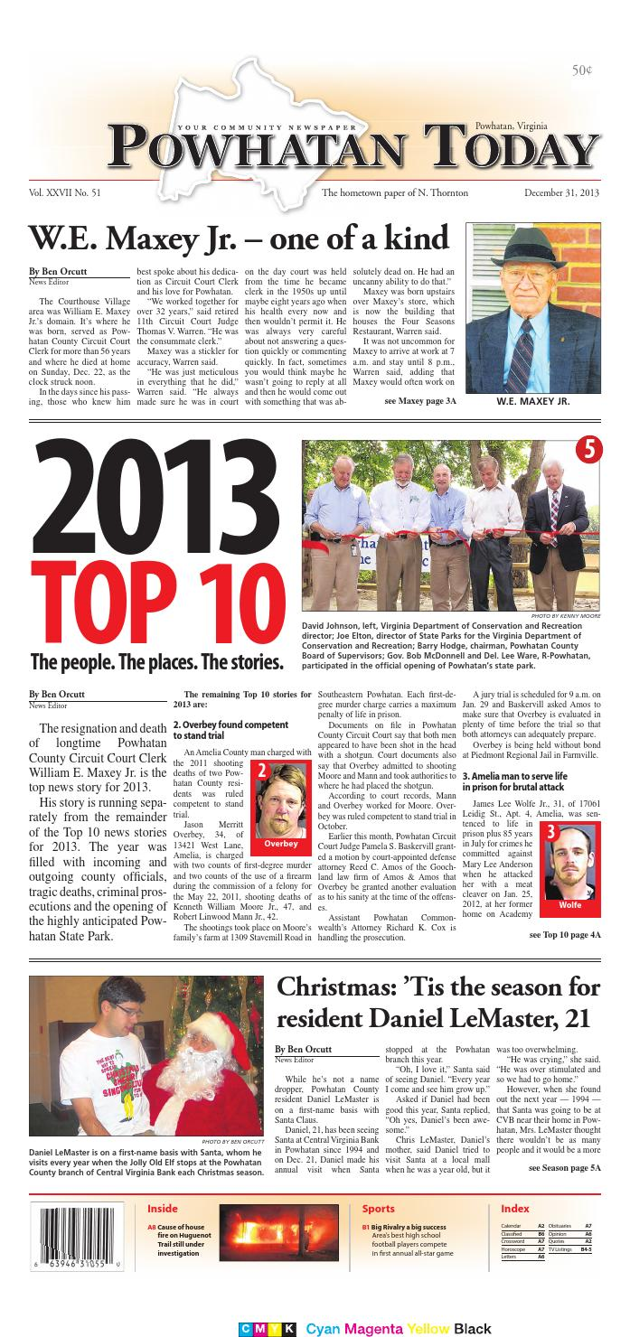 12/31/2013 by Powhatan Today - issuu