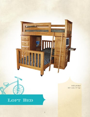 2013 J Miller Woodworking Catalog / Kids Furniture / E U0026 G Amish ...