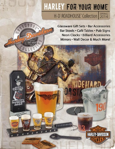 Harley Davidson 174 Roadhouse Collection Spring 2014 Catalog
