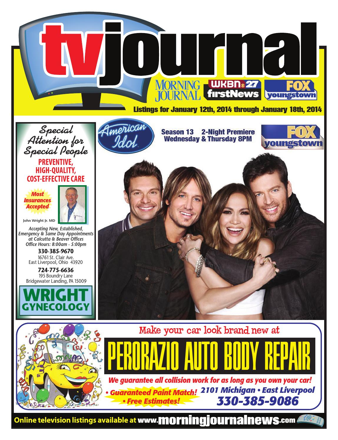 TV Journal 1-12-2014 by Morning Journal - issuu