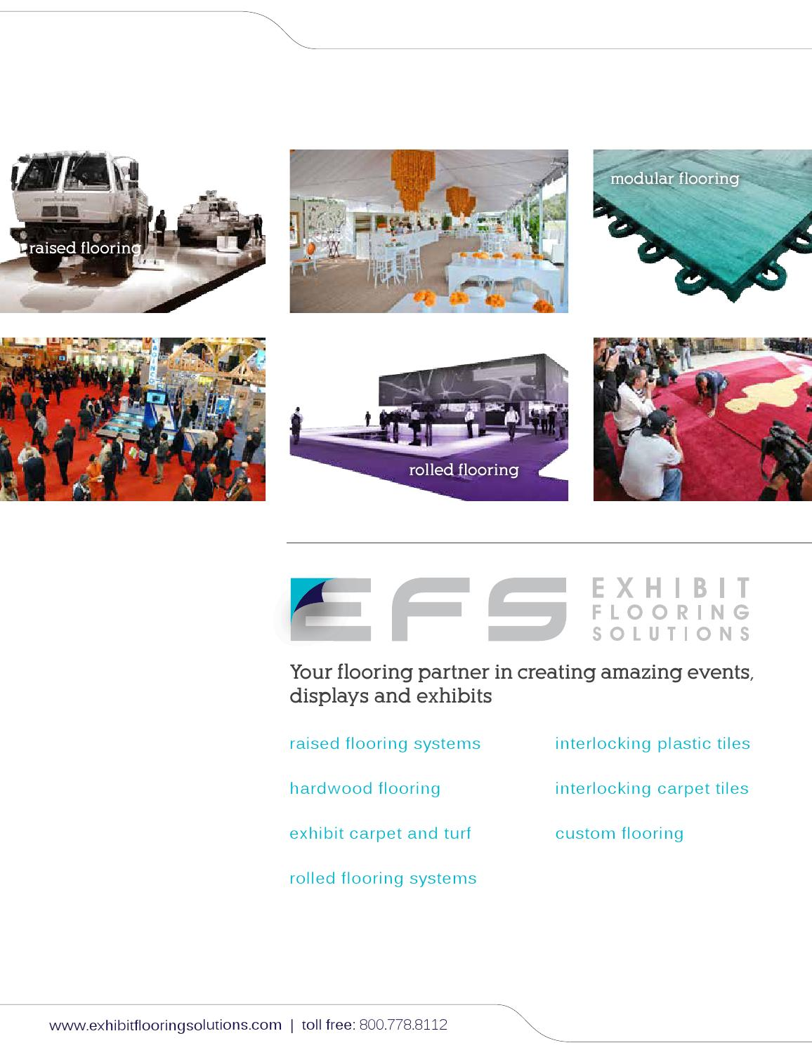 Exhibit Flooring Solutions Brochure 2014 By Signature