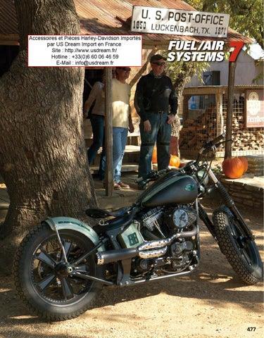 Harley-Davidson et Moto Custom Accessoires Réservoir et ... on