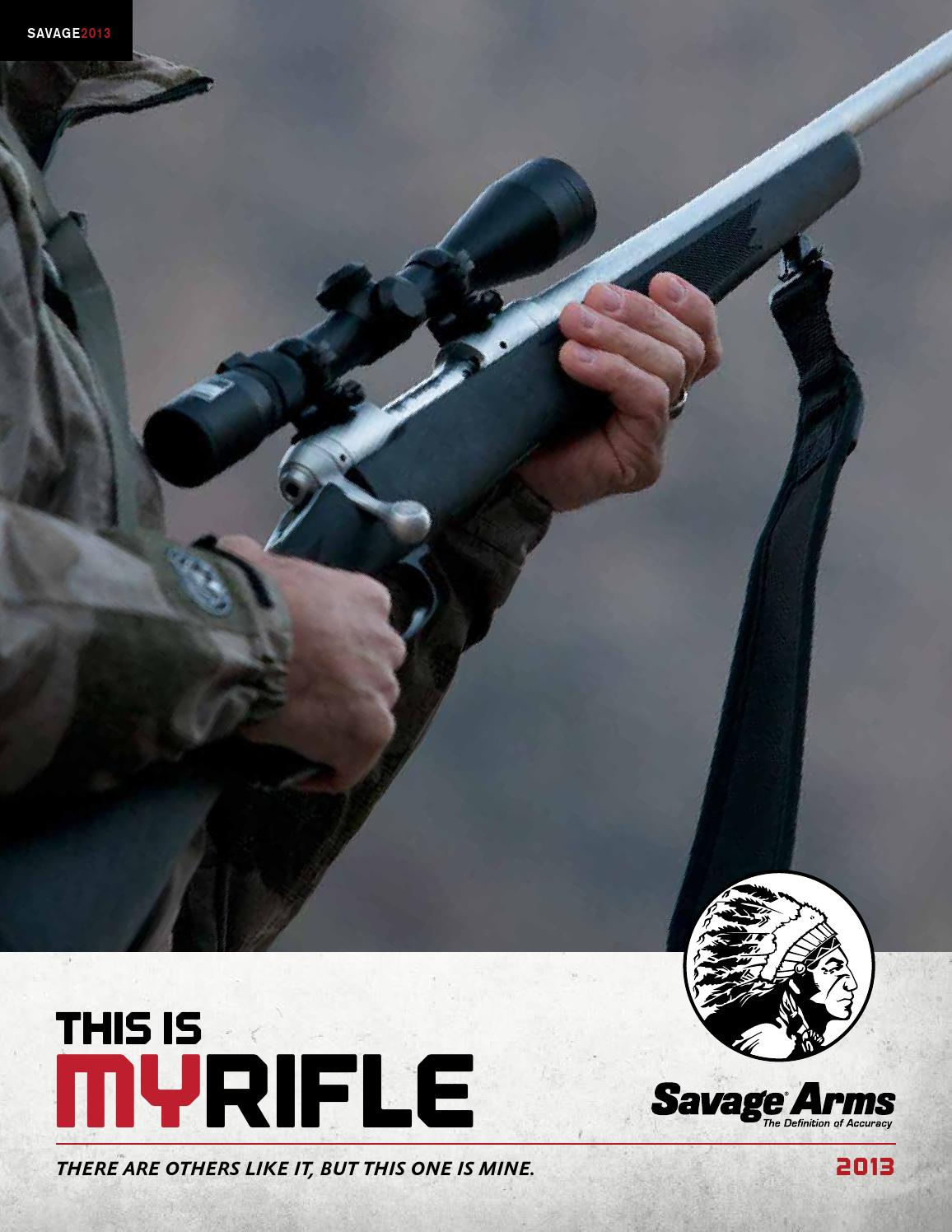 Savage arms catalogue 2013 by kuhada issuu sciox Images