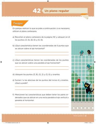 Desafíos Matemáticos 6 Grado Para El Alumno By Escuelas De Tiempo Completo Veracruz Issuu