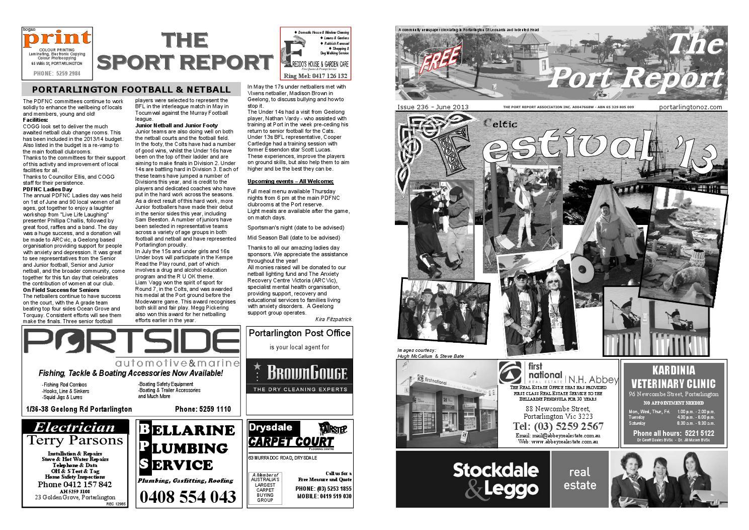 236. Port Report June 2013 by The Port Report - issuu 4f52b6d3cb586
