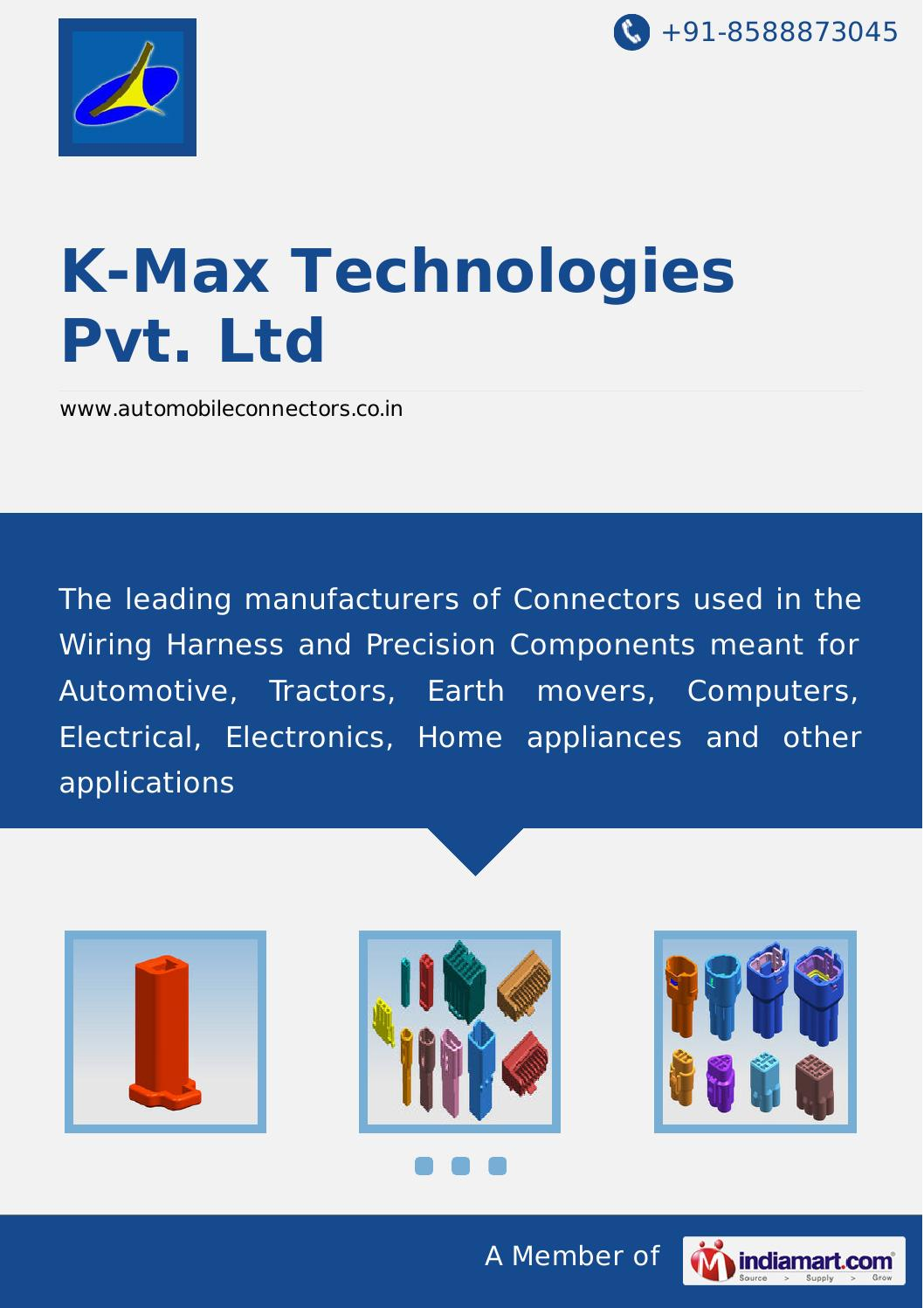 K Max Technologies Pvt Ltd By Issuu Wiring Harness Industry In Chennai