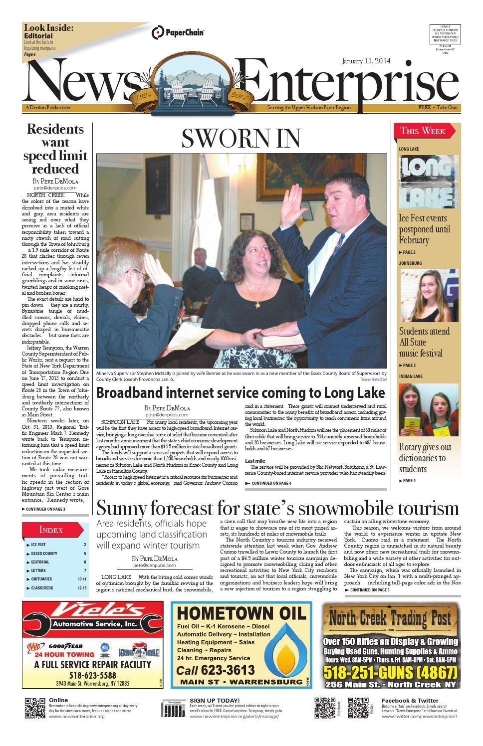 20140111 newsenterprise by Sun Community News and Printing