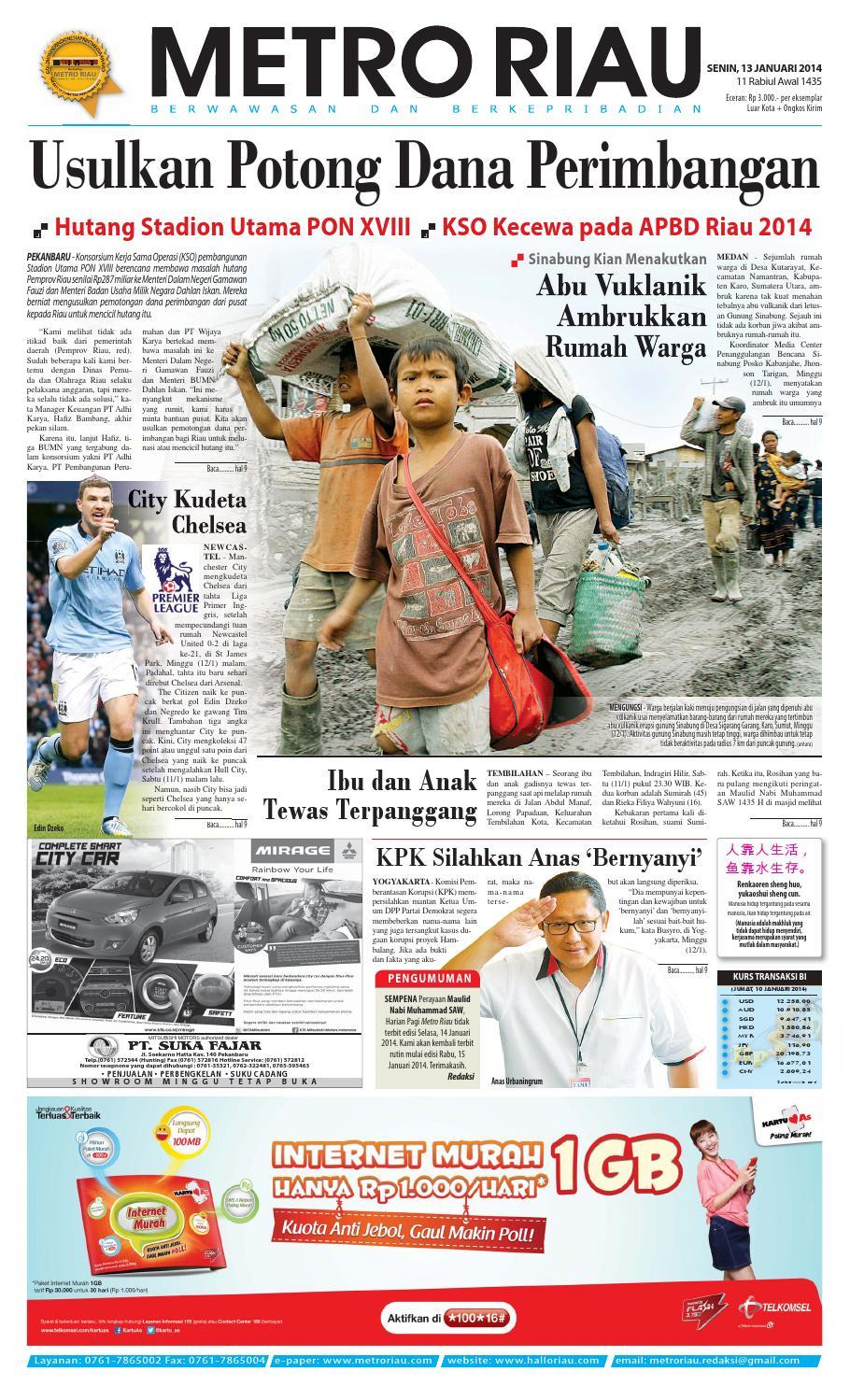 130114 By Harian Pagi Metro Riau Issuu Produk Ukm Bumn Rasa Dewa Sari Buah Mbing 250ml Jus Free Ongkir Depok Ampamp Jakarta