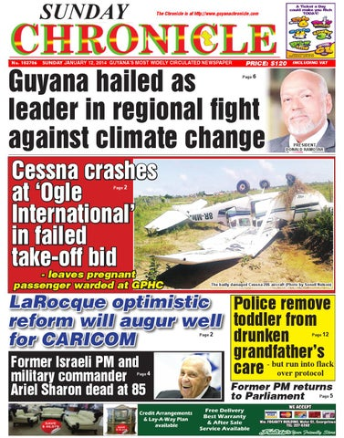 Guyana Chronicle 12 01 14 By Guyana Chronicle E Paper Issuu