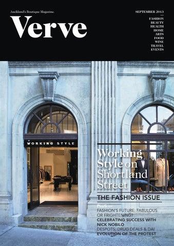 Verve Aucklands Boutique Magazine