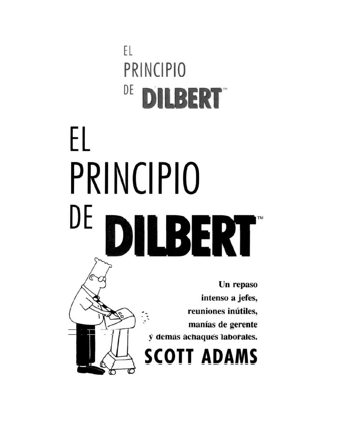 El principio de dilbert by Victorino Redondo Fidalgo - issuu