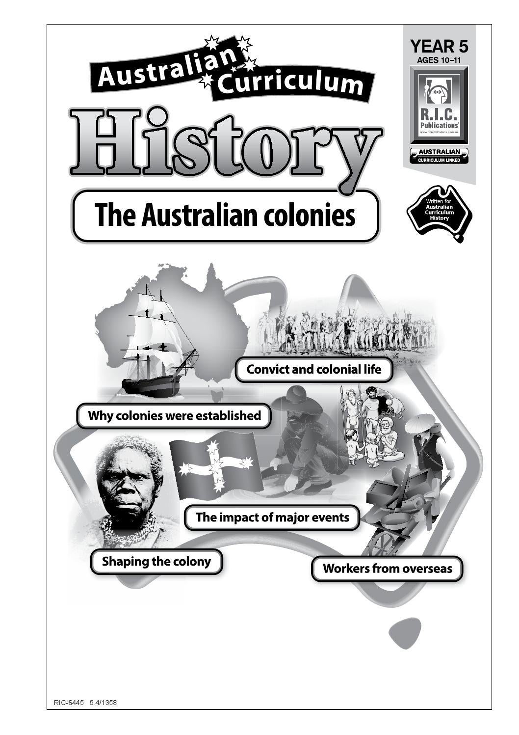 australian history curriculum The exciting oxford big ideas history australian curriculum series will motivate  and engage students its wide range of activities and sources.