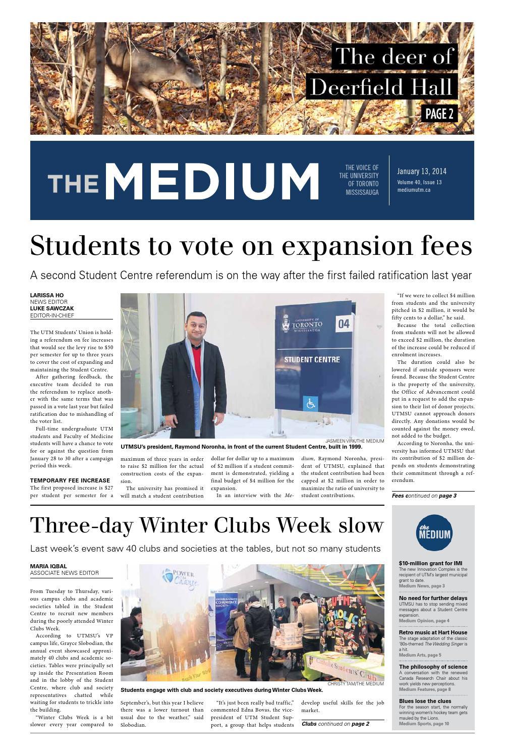 Vol 40 issue 13 by The Medium - issuu