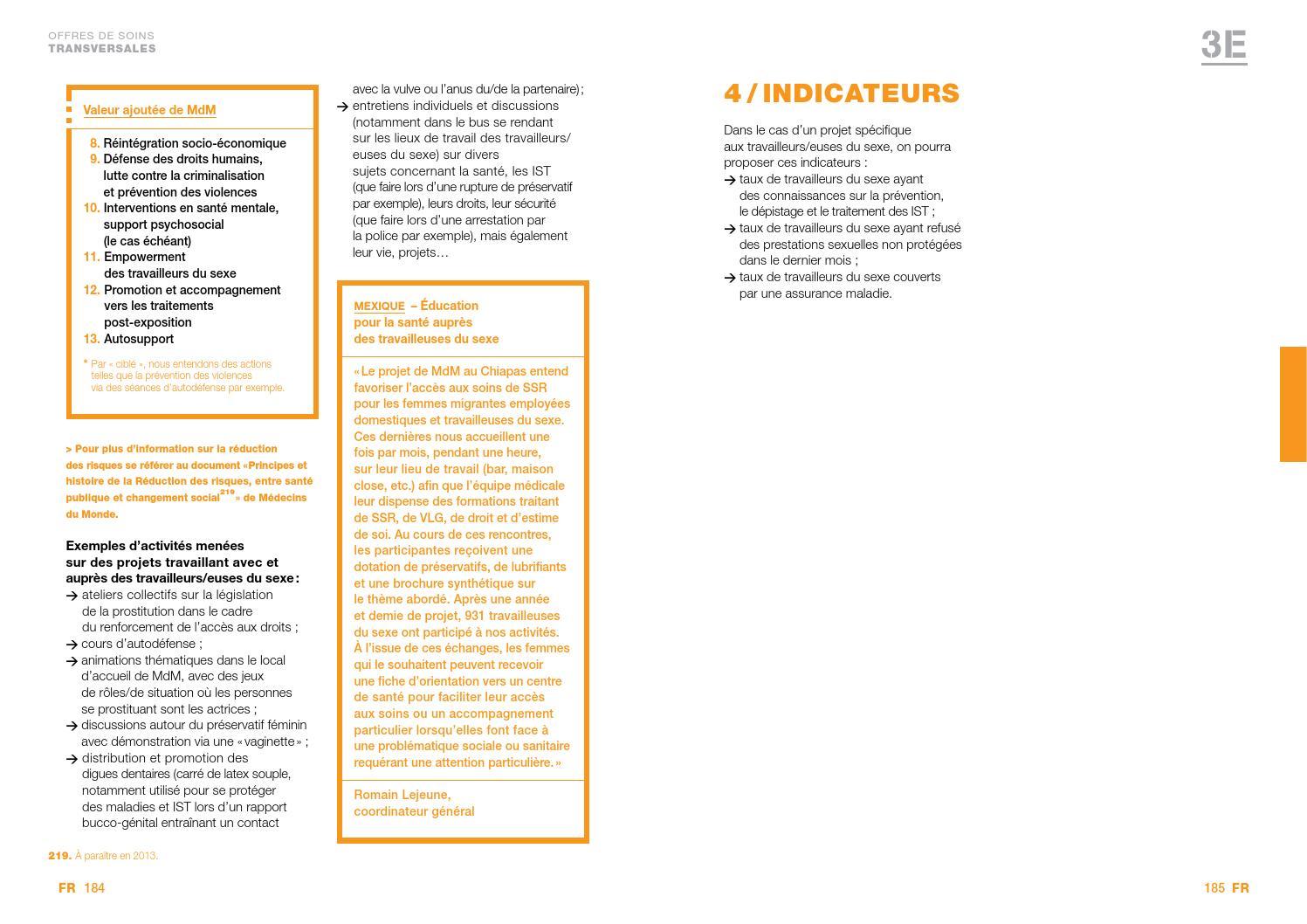 Guide Sante Sexuelle Et Reproductive Medecins Du Monde By Medecins