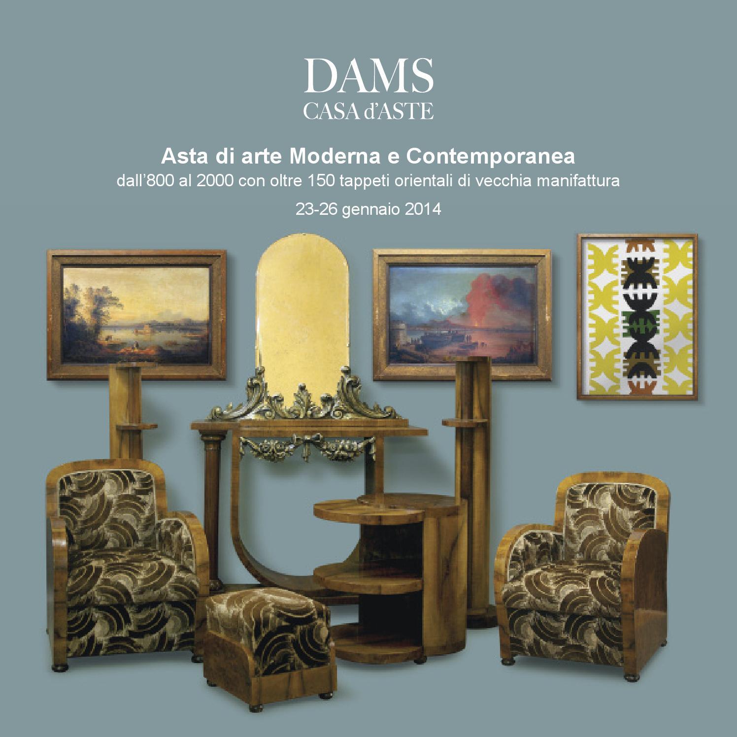 asta di arte moderna e contemporanea 23-26 gennaio 2014dams casa