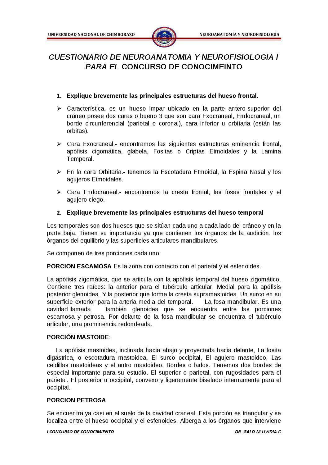 Cuestionario resuelto para primero by Galo Uvidia - issuu