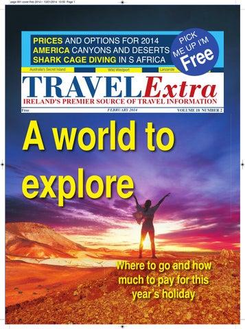 Travel Extra February 2014 Holiday World Edition By