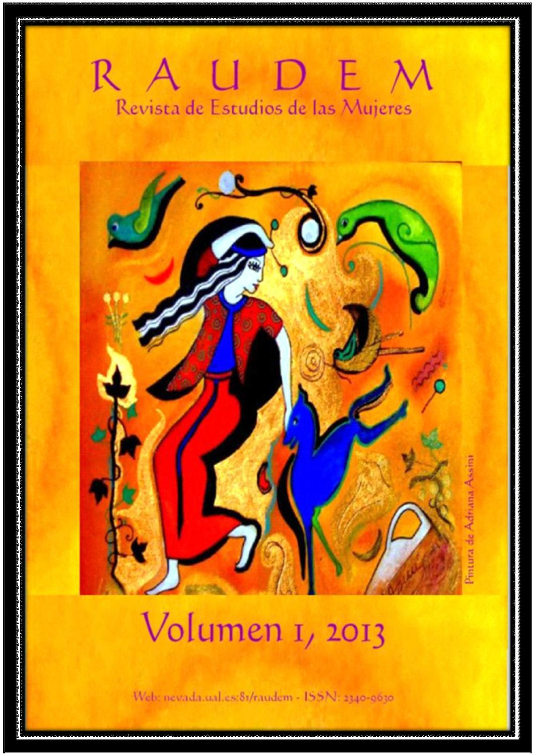 Raudem 01 2013 by RAUDEM, Revista de estudios de las mujeres - issuu