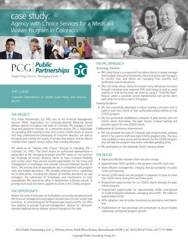 public policy case study