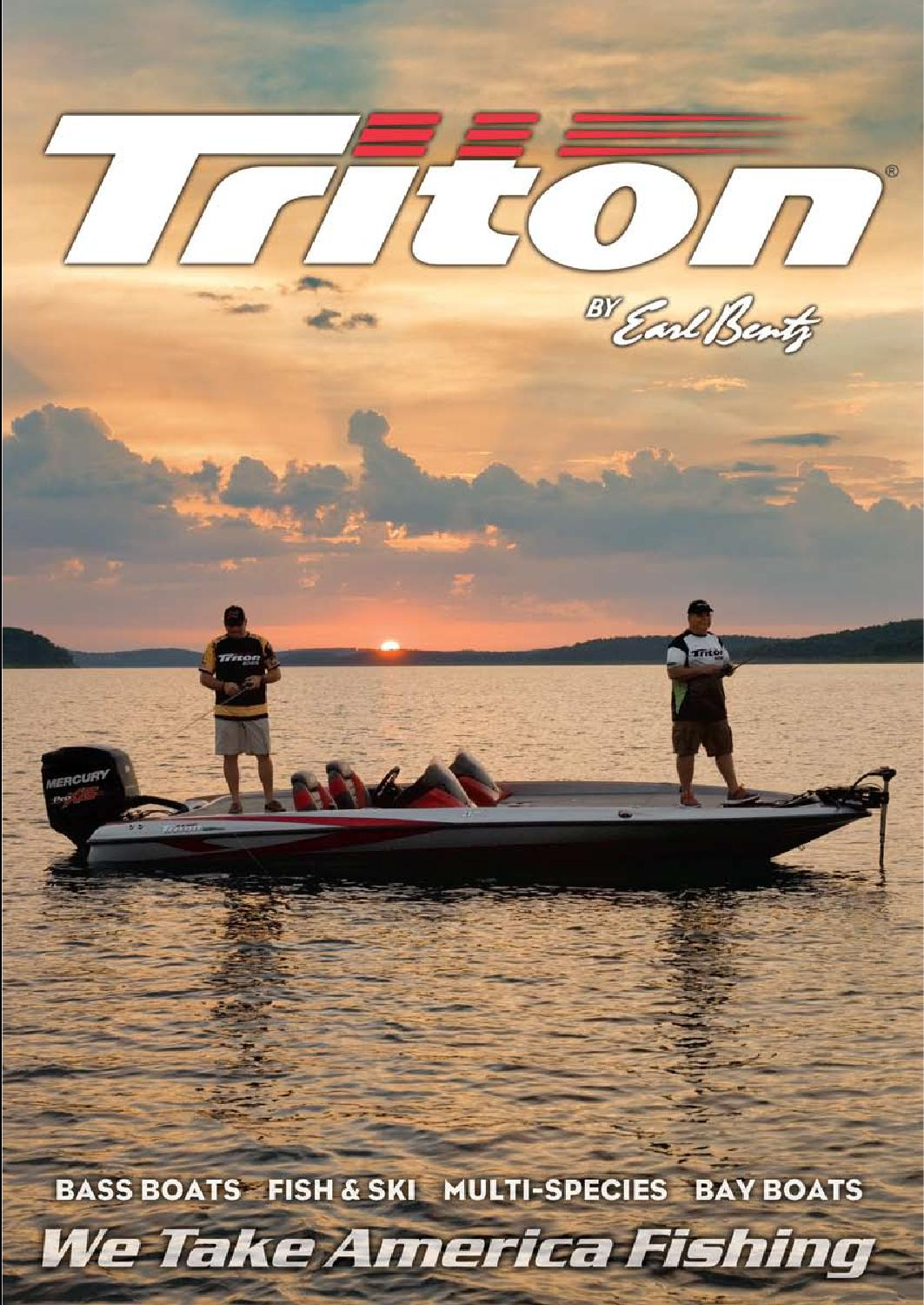 2014 Triton Boats Freshwater Catalog by Triton Boats - issuu