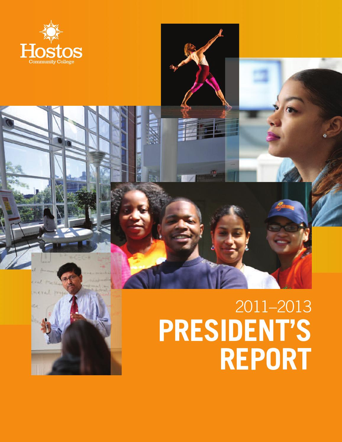 2011-2013 President's Report by Hostos Community College - issuu